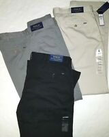 Polo Ralph Lauren Polo Mens Classic fit Chinos Pants Flat front