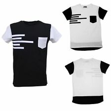 New Men's Summer Fashion T-Shirt Short Sleeve Casual Adults Top Tee Gym Shirts