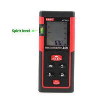 Laser Distance Meter Range Finder Area Volume Tester 60Meters 196Ft Spirit Level