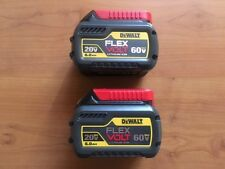 2 Brand New DEWALT DCB606-2 60V FLEX VOLT LITHIUM ION BATTERY