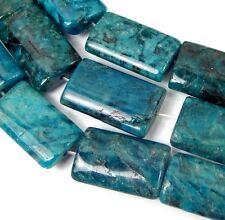 """20x12mm Blue Feldspar Jasper Rectangle Beads 15.5"""""""