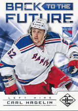 2012/13 Panini Limited Carl Hagelin Brad Richards Back to the Future Insert