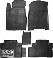 Rubber Carmats for Honda CR-V III 2007-11  All Weather Floor Mats Fully Tailored