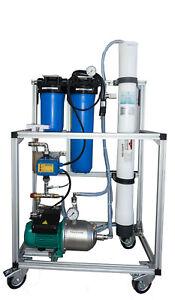 Wasseraufbereitungsanlage mit 1 xDruckrohr Model Wave-300E-4 +2Vorfilter