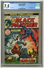 Jungle Action #5 (CGC 7.5) O/W pages; 1st Black Panther in title; 1973 (j#4479)
