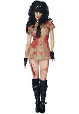 Zombie Cop Leg Avenue Day of The Dead M/L UK 12 Dress Walking Dead Sexy