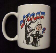 BAFFLER Rabbit Magician Ceramic Coffee Mug RARE
