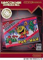 Nintendo GameBoy Advance Famicom Mini Pac-man GBA Japan w/box