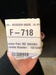 UAC Automotive Air Conditioner RD 10933BC A/C Receiver Drier