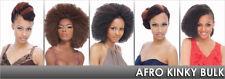 "Afro Kinky Bulk 24""inches synthetic kanekalone fiber for twist, crochet, plait"