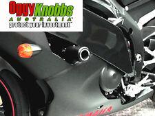 OK832 YAMAHA YZF-R6 2008-16 OGGY KNOBBS NO CUT KIT (Black Knobbs) Frame Sliders