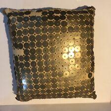 Dransfield & Ross Duck Filled Pillow Decorative Bergdorf Goodman Metal Circles