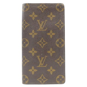 LOUIS VUITTON Porto Cartes Crédit BifoldBill Compartment Monogram M60825