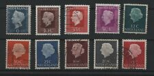 *NETHERLANDS*     small collection,    QJ,   10pcs.   Used