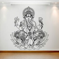 Large Wall Decal Sticker Art Removable Waterproof Vinyl Transfer Ganesh 028-013