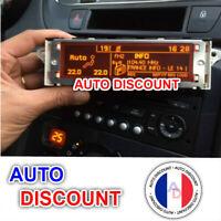 Peugeot 407 Ecran D'Affichage, Rd4 Radio LCD Multi Fonction NEUF