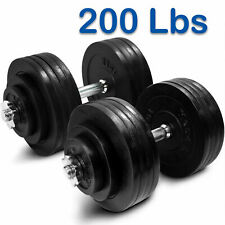 NEW 200 lbs Adjustable Dumbbells Weights Set (100 lb x2) by YES4ALL - SHIPS NOW!