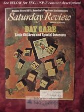 Saturday Review February 20 1971 DAY CARE STUART CHASE JONATHAN BLACK