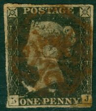 EDW1949SELL : GREAT BRITAIN 1840 Scott #1 Used. Small faults.