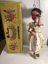 Vintage Pelham Puppets Ballet Dancer Within An Original Box