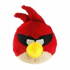 6 INCH - 15CM - SUPER RED ANGRY BIRD SOFT PLUSH TOY - BRAND NEW AND LICENCED