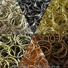 Split Rings 10mm 15mm 20mm 25mm 30mm Keyring Hook Loop Leather Craft
