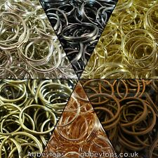 Split Rings 10mm 15mm 20mm 25mm 30mm Keyring Hook Loop Leather Craft