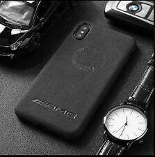 iPhone Mercedes AMG Affalterbach Alcantara Suede Phone Case Cover ALL MODELS UK