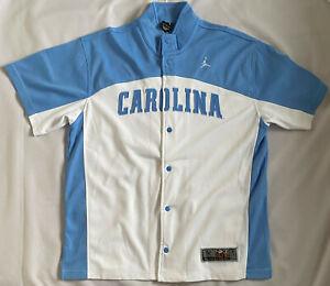 Michael Jordan North CAROLINA Tar Heels Shooting Warm-Up Shirt Nike Elite Medium