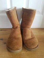 Ugg Australia Chestnut Sheepskin Boots Size 7, 40 UK