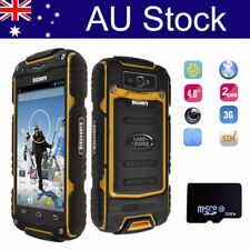 3G Outdoor Android Smartphone Unlocked 4.0'' Dual Card Rugged Mobile Phone +32GB