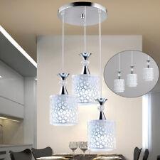Modern 3-Head LED Petal Ceiling Pendant Light Dining Room Chandelier Fixture New