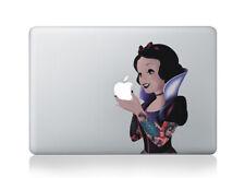 Gothic Snow White Tattooed Disney MacBook Decal Sticker Apple Macbook Sticker