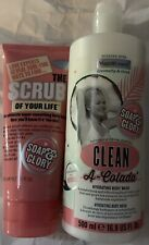 Soap&Glory Clean-A-Colada Hydrating Body Wash 500ml & The Scrub Of Your Life