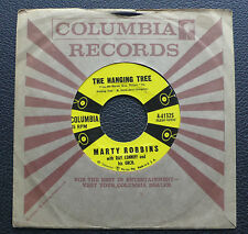"""7"""" Marty Robbins - The Hanging Tree/ Blues Country Style - US Columbia"""