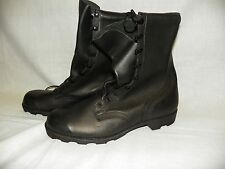 Mens Military Leather Duty Combat Boots 13.5 Regular Speed Lace New 04/97