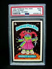 GARBAGE PAIL KIDS 1985 2nd Series #63b Janet Planet - GLOSSY -OS2 Grade PSA 7 NM