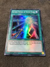 3x Super Rare Sacred Sword Of The Seven Stars Mixed Sets Mixed Editions