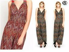 Unbranded Women's Geometric Sleeveless Jumpsuits & Playsuits