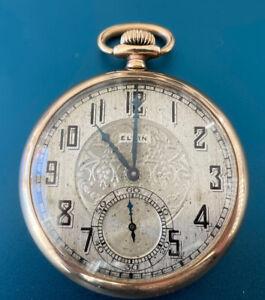 ELGIN Antique Pocket Watch, Grade 315 Size 12S Serial 3246793 15 Jewels  Working