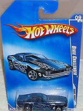 2009 Hot Wheels Rebel Rides #145-190 '70 Black Dixie Challenger Diecast 4+ Malay