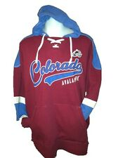 Colorado Avalanche MENS Sweatshirt Pullover Hoodie Power Play by G-III