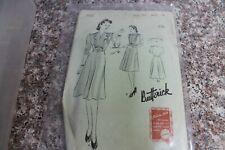 Vintage Original Butterick Sewing Patterns Dress maternity pajamas coat 1930s+