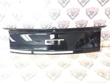 2015 15 Ford Mustang GT OEM Rear Trunk Lid Tail Finish Panel Black w/ Camera