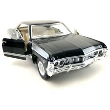 1967 Chevrolet Impala Kinsmart 1:43 Die-Cast Model Toy Car Collection Black #2