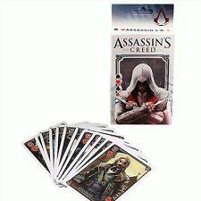 Assassin's creed cartes à jouer, poker, gamer, jeu vidéo       *Envoi de France*