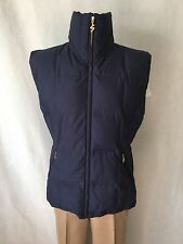 BOGNER SONIA NEVY BLUE with ORANGE BRIGHT LINING VEST. Sz 10