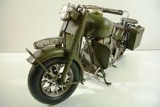 Motorrad Blech 35cm Motorrad Bike Militär Bundeswehr Dekoration neu