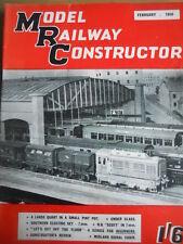 Model Railway Constructor 2 1958