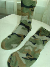 Polar Fleece Slippers Socks CAMO Camoflauge NEW Mens Camoflage